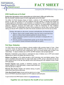 Partnership for Peak Healthcare Performance: Fact Sheet